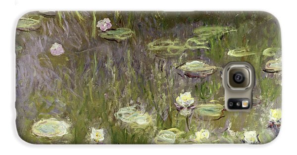 Waterlilies At Midday Galaxy S6 Case by Claude Monet