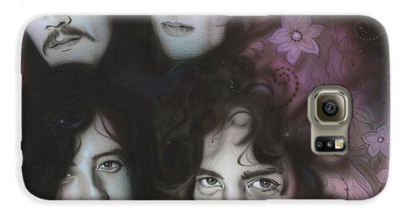 Led Zeppelin - ' Zeppelin ' Galaxy S6 Case by Christian Chapman Art