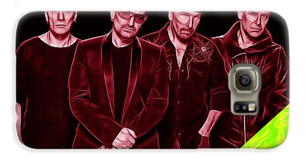U2 Collection Galaxy S6 Case by Marvin Blaine
