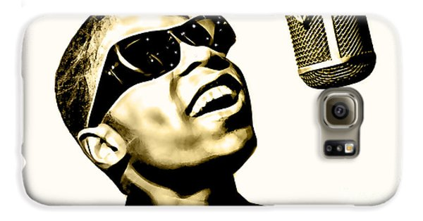 Stevie Wonder Collection Galaxy S6 Case by Marvin Blaine