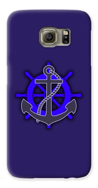 Nautical Collection Galaxy S6 Case by Marvin Blaine