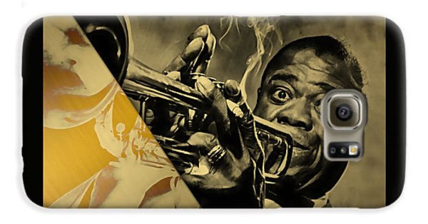 Louis Armstrong Collection Galaxy S6 Case by Marvin Blaine
