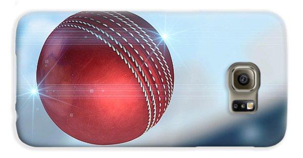 Ball Flying Through The Air Galaxy S6 Case by Allan Swart