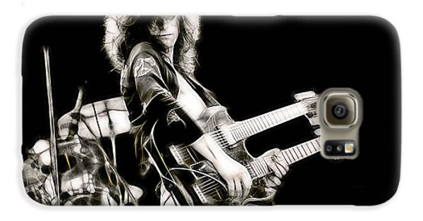 Jimmy Page Collection Galaxy S6 Case by Marvin Blaine