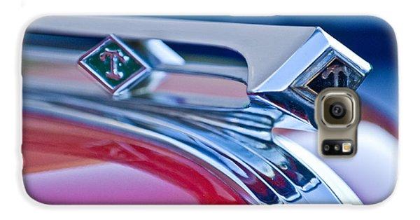 1949 Diamond T Truck Hood Ornament 3 Galaxy S6 Case by Jill Reger