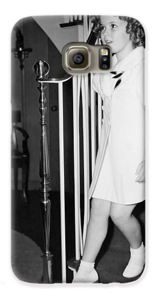 Actress Shirley Temple Galaxy S6 Case by Underwood Archives