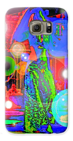 Belly Dance Galaxy S6 Case by Andy Za