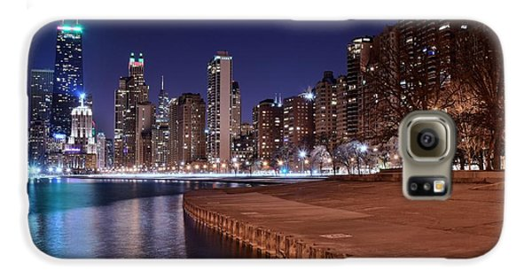 Chicago From The North Galaxy S6 Case by Frozen in Time Fine Art Photography