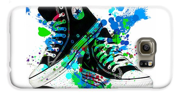 Converse All Stars Galaxy S6 Case by Marvin Blaine