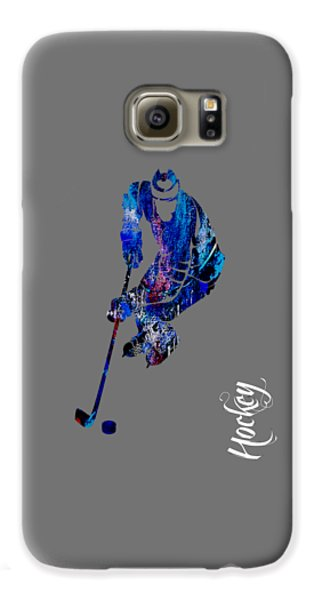 Hockey Collection Galaxy S6 Case by Marvin Blaine