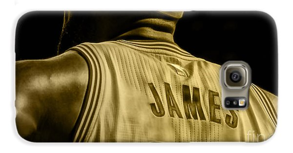 Lebron James Collection Galaxy S6 Case by Marvin Blaine