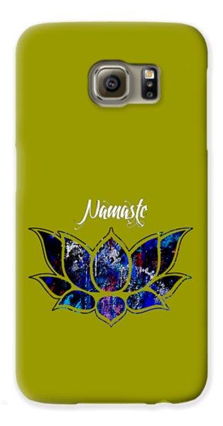 Namaste Galaxy S6 Case by Marvin Blaine