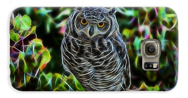 Owl Collection Galaxy S6 Case by Marvin Blaine