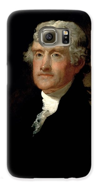 President Thomas Jefferson  Galaxy S6 Case by War Is Hell Store