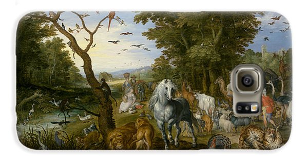 The Entry Of The Animals Into Noah's Ark Galaxy S6 Case by Jan Brueghel the Elder