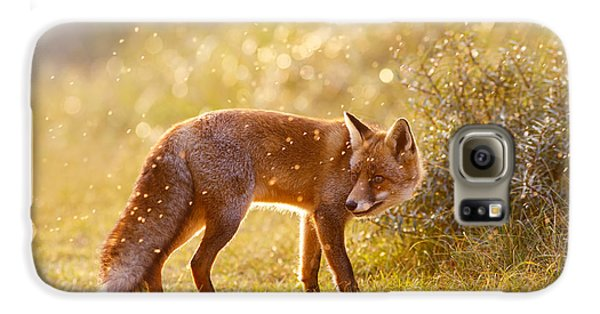 The Fox And The Fairy Dust Galaxy S6 Case by Roeselien Raimond