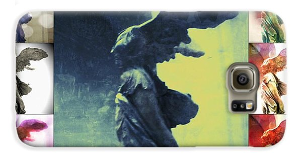 The Winged Victory - Paris - Louvre Galaxy S6 Case by Marianna Mills