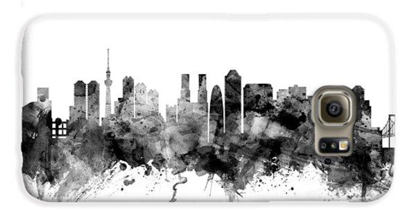 Tokyo Japan Skyline Galaxy S6 Case by Michael Tompsett