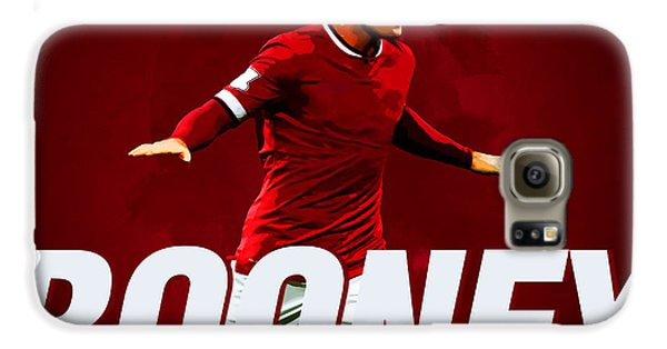 Wayne Rooney Galaxy S6 Case by Semih Yurdabak