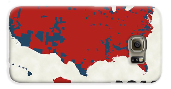 2016 Election Results Galaxy S6 Case by Finlay McNevin