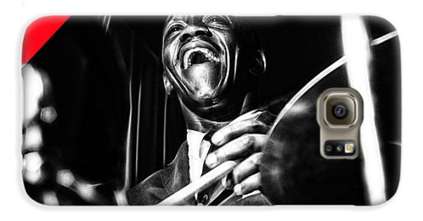 Art Blakey Collection Galaxy S6 Case by Marvin Blaine