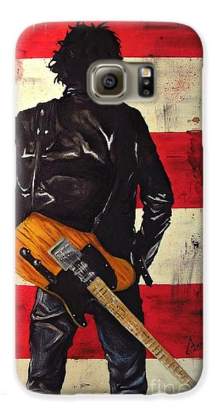 Bruce Springsteen Galaxy S6 Case by Francesca Agostini