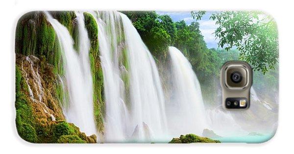 Detian Waterfall Galaxy S6 Case by MotHaiBaPhoto Prints