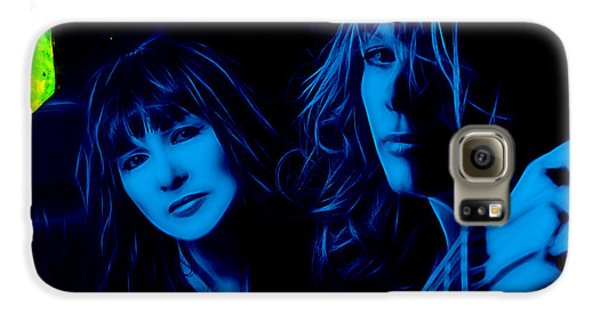 Heart Ann And Nancy Wilson Collection Galaxy S6 Case by Marvin Blaine