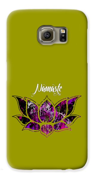 Namaste Galaxy S6 Case by Marvin Blaine