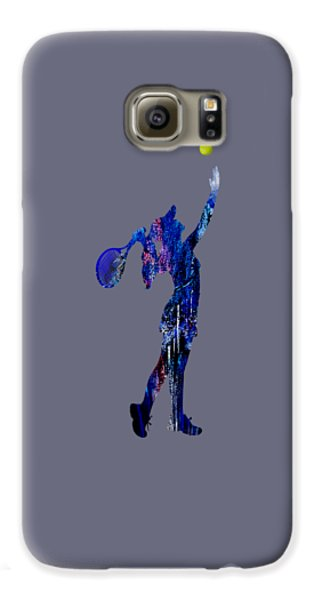 Womens Tennis Collection Galaxy S6 Case by Marvin Blaine