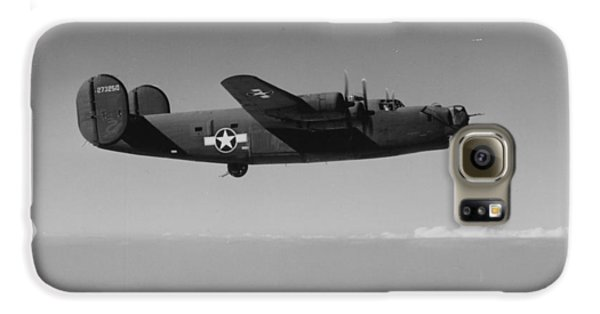 Wwii Us Aircraft In Flight Galaxy S6 Case by American School