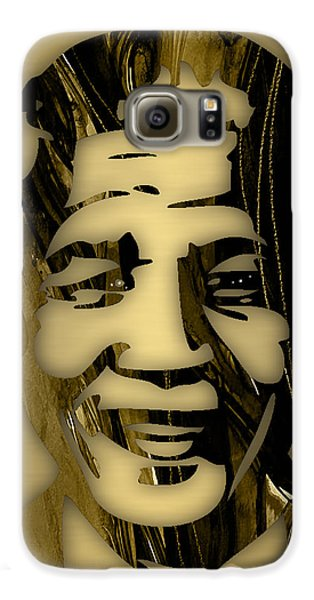 Nelson Mandela Collection Galaxy S6 Case by Marvin Blaine