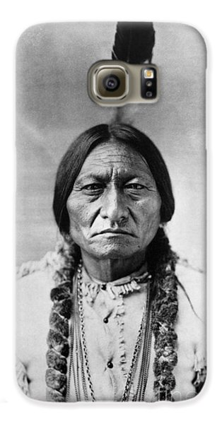 Sitting Bull (1834-1890) Galaxy S6 Case by Granger