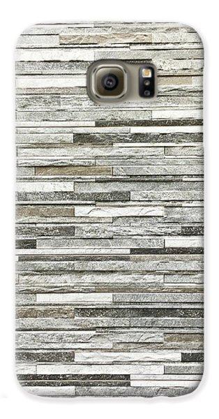 Stone Tiles Galaxy S6 Case by Tom Gowanlock