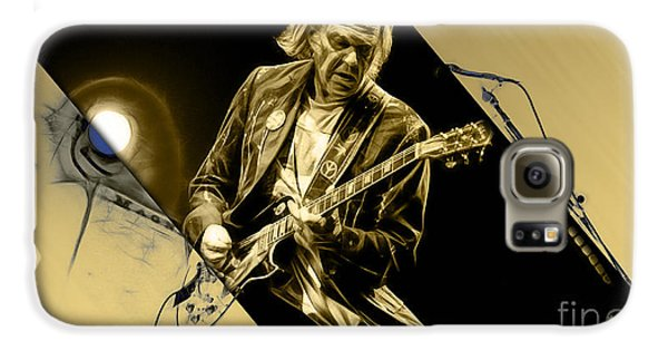 Neil Young Collection Galaxy S6 Case by Marvin Blaine