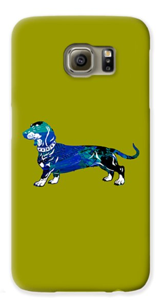 Dachshund Collection Galaxy S6 Case by Marvin Blaine