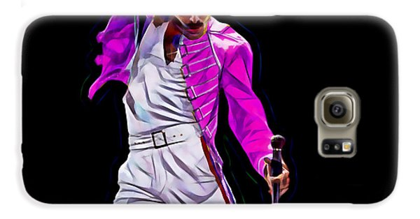 Freddie Mercury Queen Collection Galaxy S6 Case by Marvin Blaine