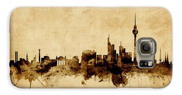 Berlin Germany Skyline Galaxy S6 Case by Michael Tompsett