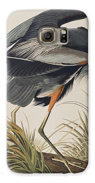 Great Blue Heron Galaxy S6 Case by John James Audubon