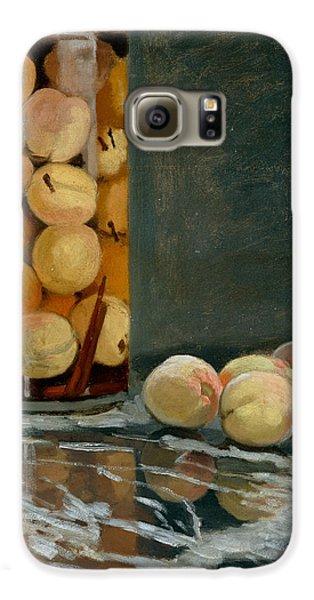 Jar Of Peaches Galaxy S6 Case by Claude Monet