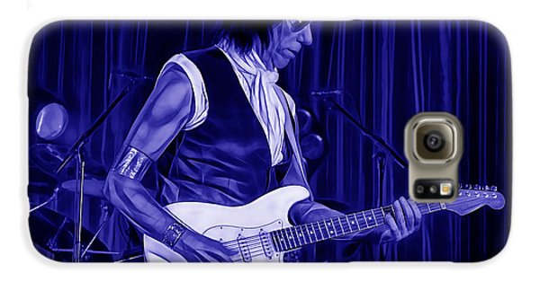 Jeff Beck Collection Galaxy S6 Case by Marvin Blaine