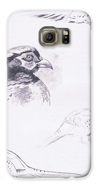 Pheasants Galaxy S6 Case by Archibald Thorburn