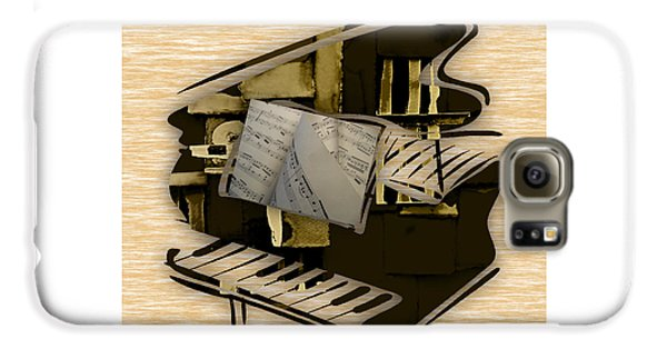 Piano Collection Galaxy S6 Case by Marvin Blaine