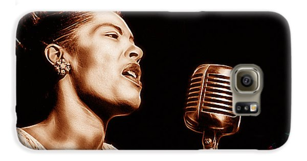 Billie Holiday Collection Galaxy S6 Case by Marvin Blaine