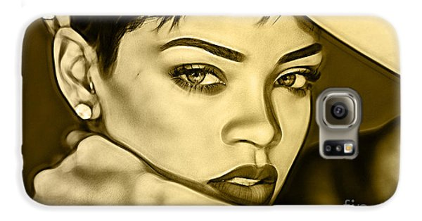 Rihanna Collection Galaxy S6 Case by Marvin Blaine