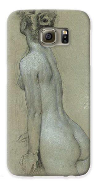 A Naiad In The Lament For Icarus Galaxy S6 Case by Herbert James Draper