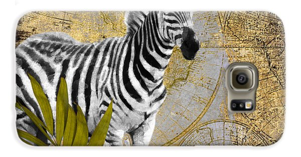 A Taste Of Africa Zebra Galaxy S6 Case by Mindy Sommers