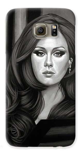 Adele Mixed Media Galaxy S6 Case by Paul Meijering