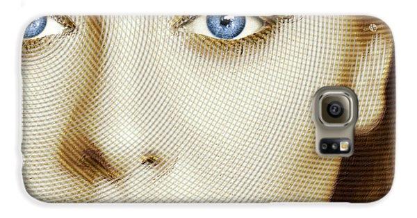 Adele Painting Circle Pattern 1 Galaxy S6 Case by Tony Rubino