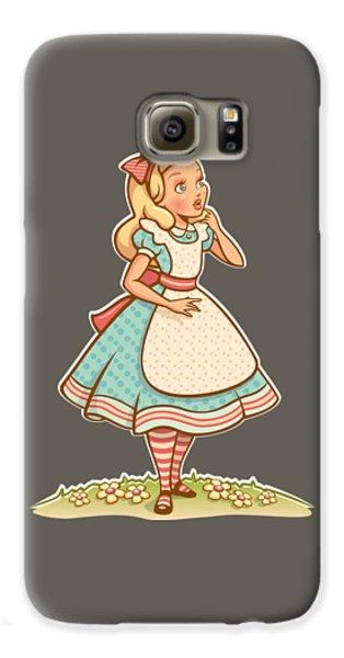Alice Galaxy S6 Case by Elizabeth Taylor